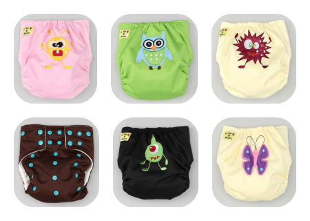 Little Monster Cloth Diapers