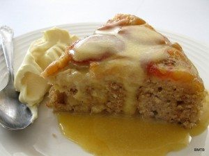 Banana Bread Pudding with Caramel Sauce