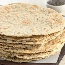 Chia flatbread recipe