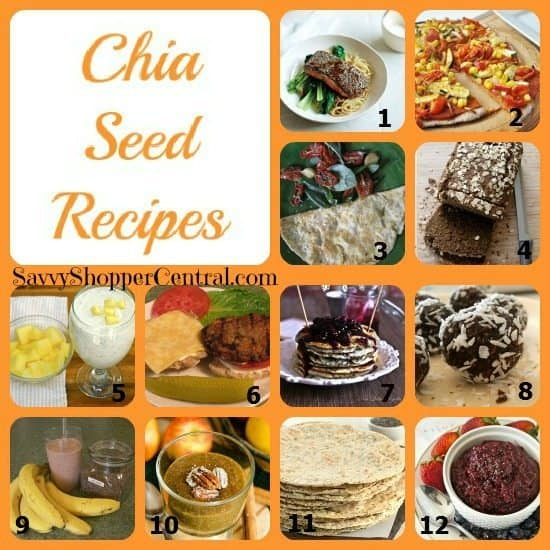 Recipes Using Chia Seeds