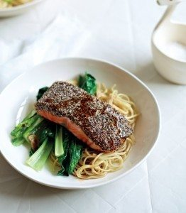 Chia Crusted Salmon Recipe