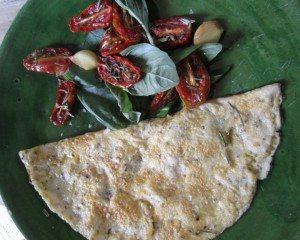 Chia Omelette Recipe