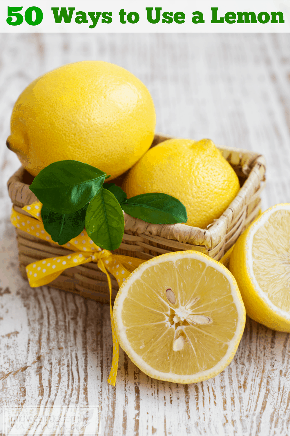 50 Ways to Use a Lemon