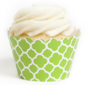 Green Cupcake Wrappers