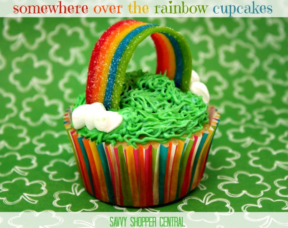 Somewhere over the Rainbow Cupcakes - Gluten Free