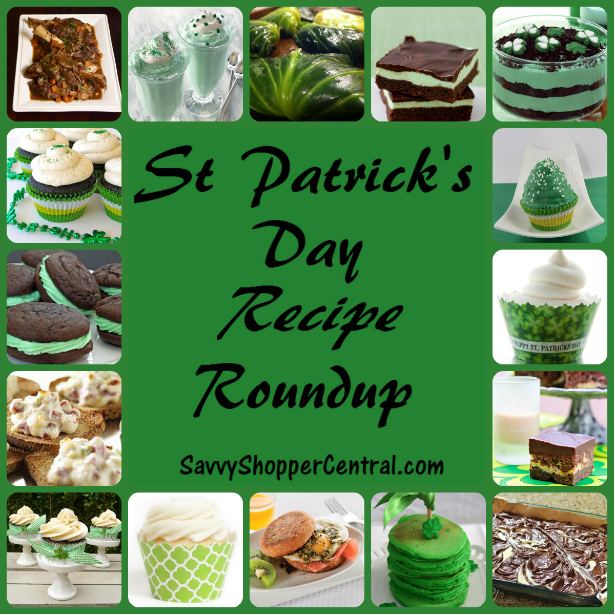 St Paddy's Day Recipes
