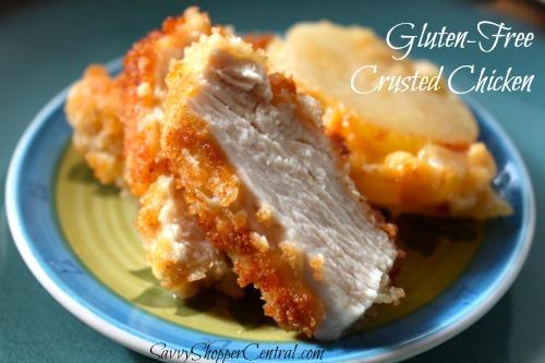 Gluten-Free Crusted Chicken