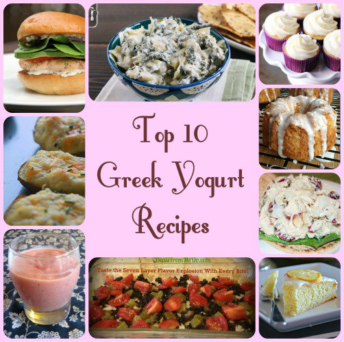 Top 10 Greek Yogurt Recipes