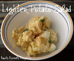 Greek Yogurt & Mustard Potato Salad