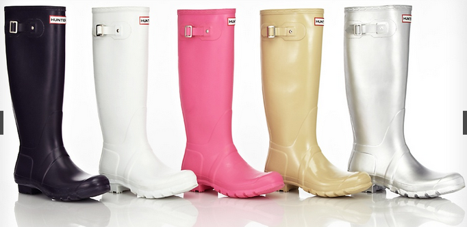 Hunter Wellington Boots sale