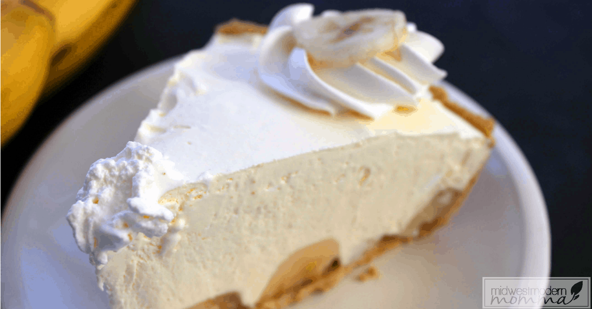 Semi-Homemade Banana Cream Pie