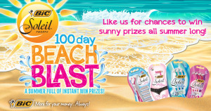 BIC Soleil 100 Day Beach Blast Sweepstakes and IWG