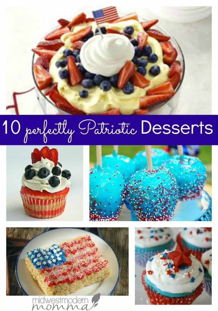 10 Perfectly Patriotic Desserts (1)