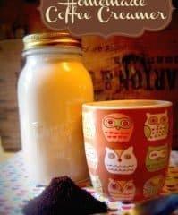 Homemade Coffee Creamer | Easy Frugal DIY