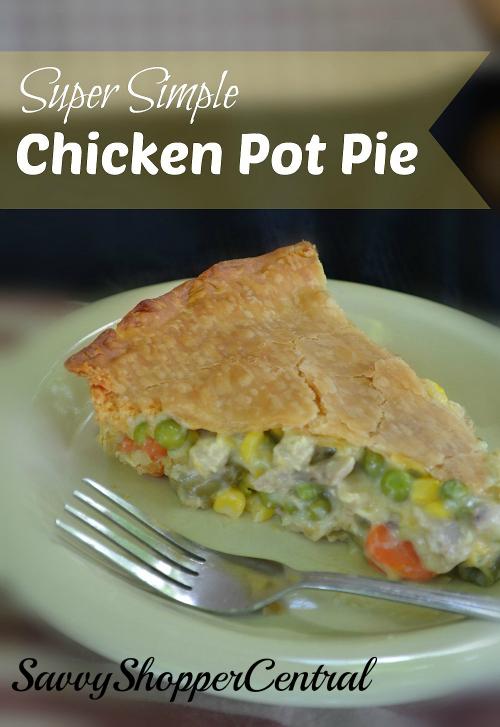 Super Simple Chicken Pot Pie