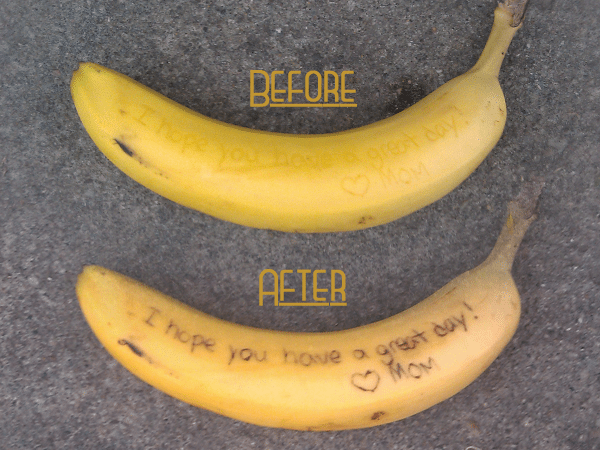 Banana-Before-and-After
