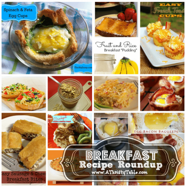 Breakfast Recipe Roundup