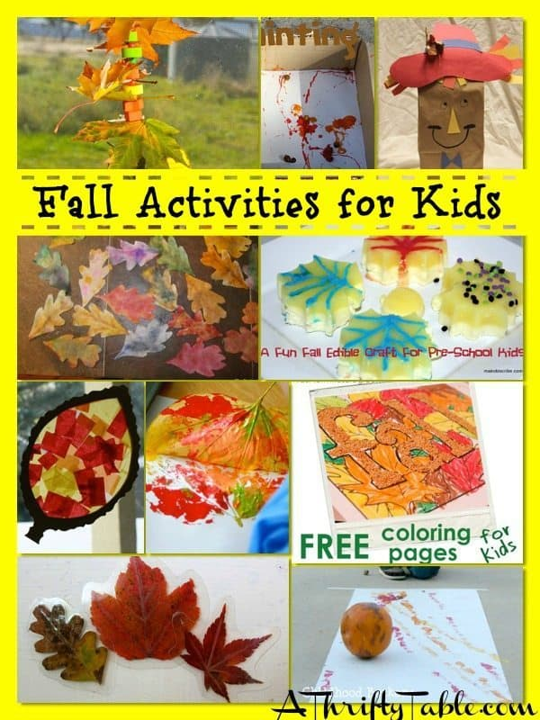 Fall Activities for Children