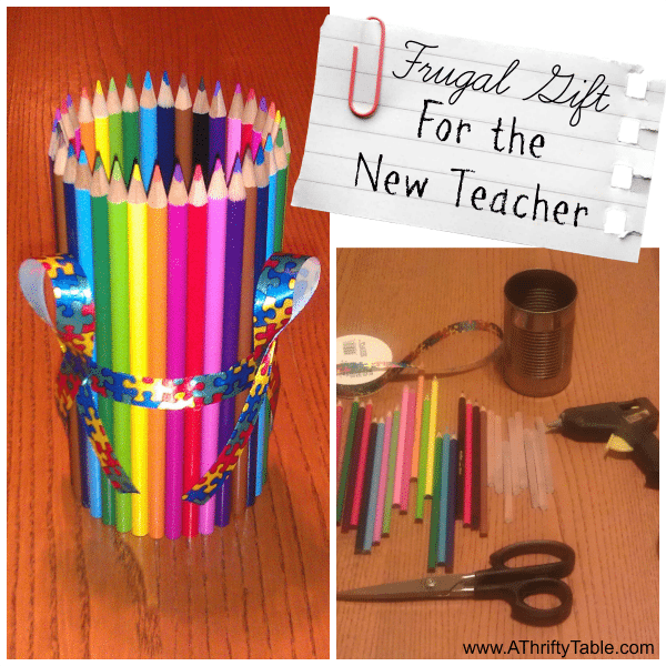 Frugal Gift for the New teacher