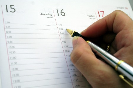 Choose a calender or scheduler that works for you