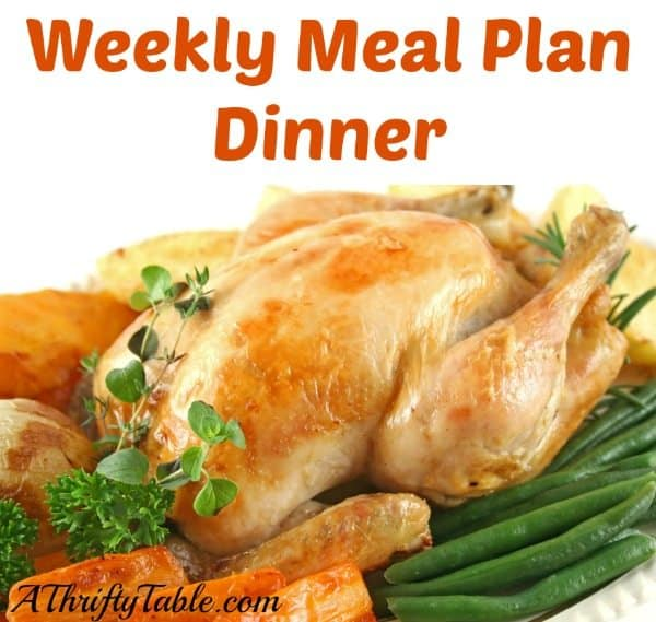 Meal Planning: Dinner