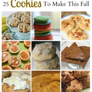 25 Cookie Recipes To Make This Fall