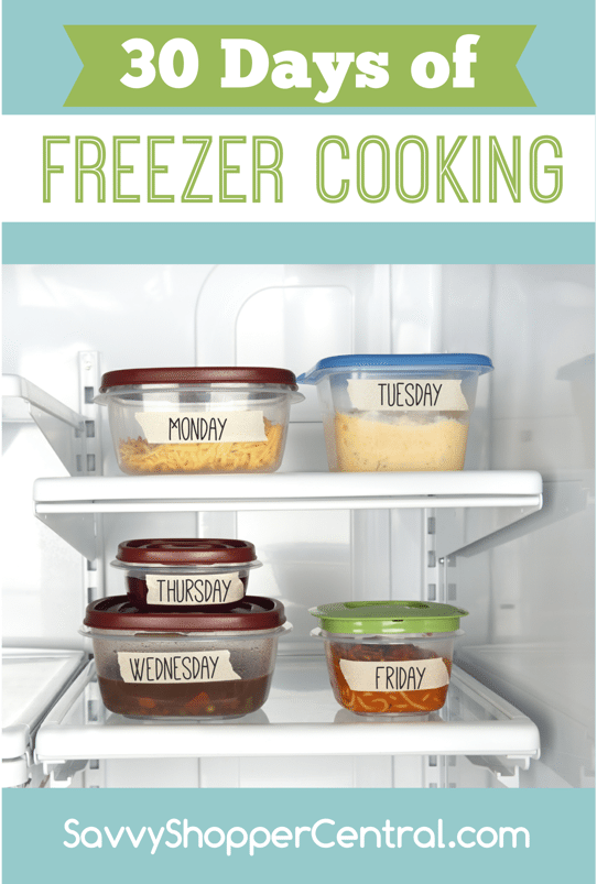 30 Days Freezer Cooking: Foods that don't freeze well