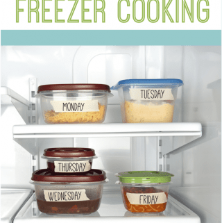 30 Days of Freezer Cooking: Cooking Methods