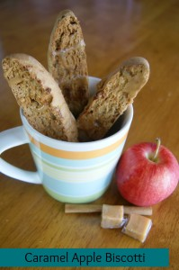 Caramel Apple Biscotti