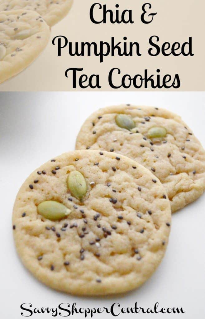 Chia Seed Tea Cookies