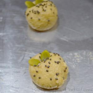 Chia and Pumpkin Seed Tea Cookies