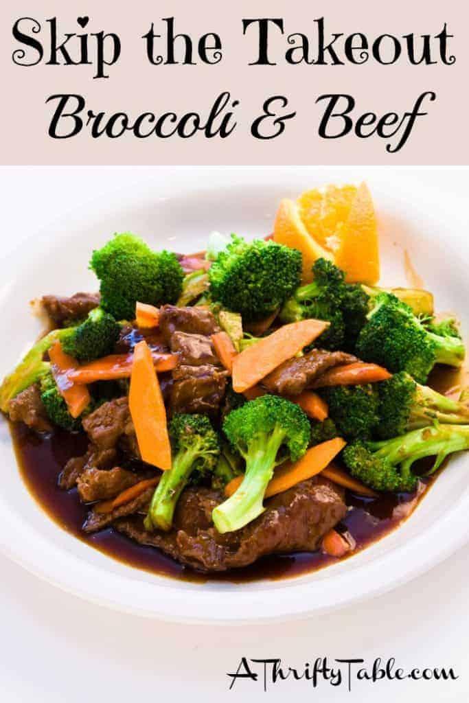 Broccoli & Beef