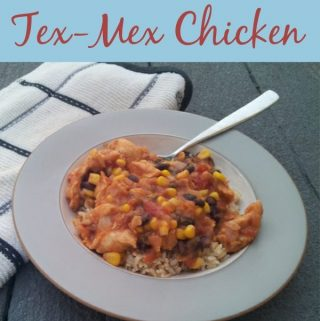 Easy Tex-Mex Slow Cooker Chicken