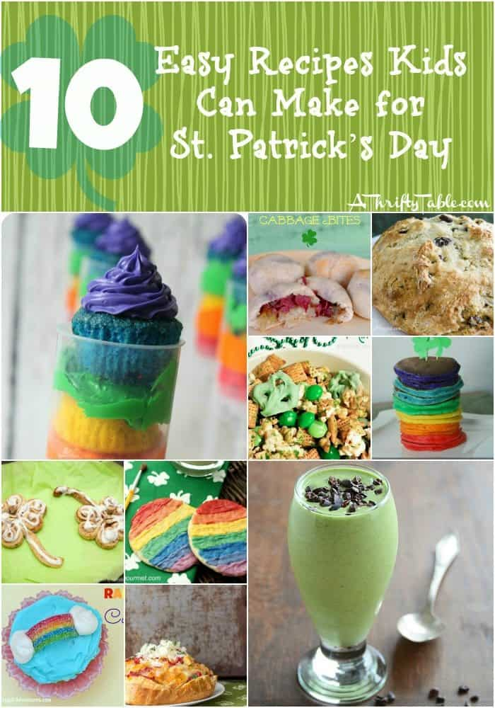 10 Easy Recipes Kids Can Make for St. Patrick's Day