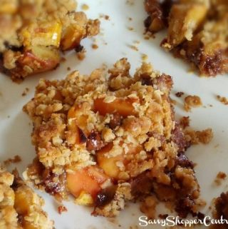Caramel Apple Chocolate Oatmeal Bars