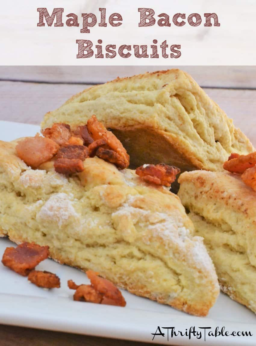 Maple Bacon Biscuits Copycat Recipe