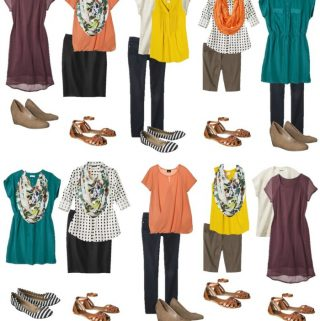 Frugal Fashion: 15 Outfits at Target for under $200