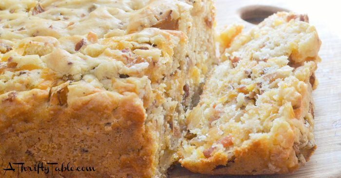 Bacon Cheese Bread