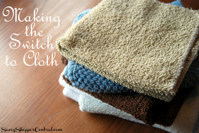 Making the Switch to Cloth | Saving Money by Going Green