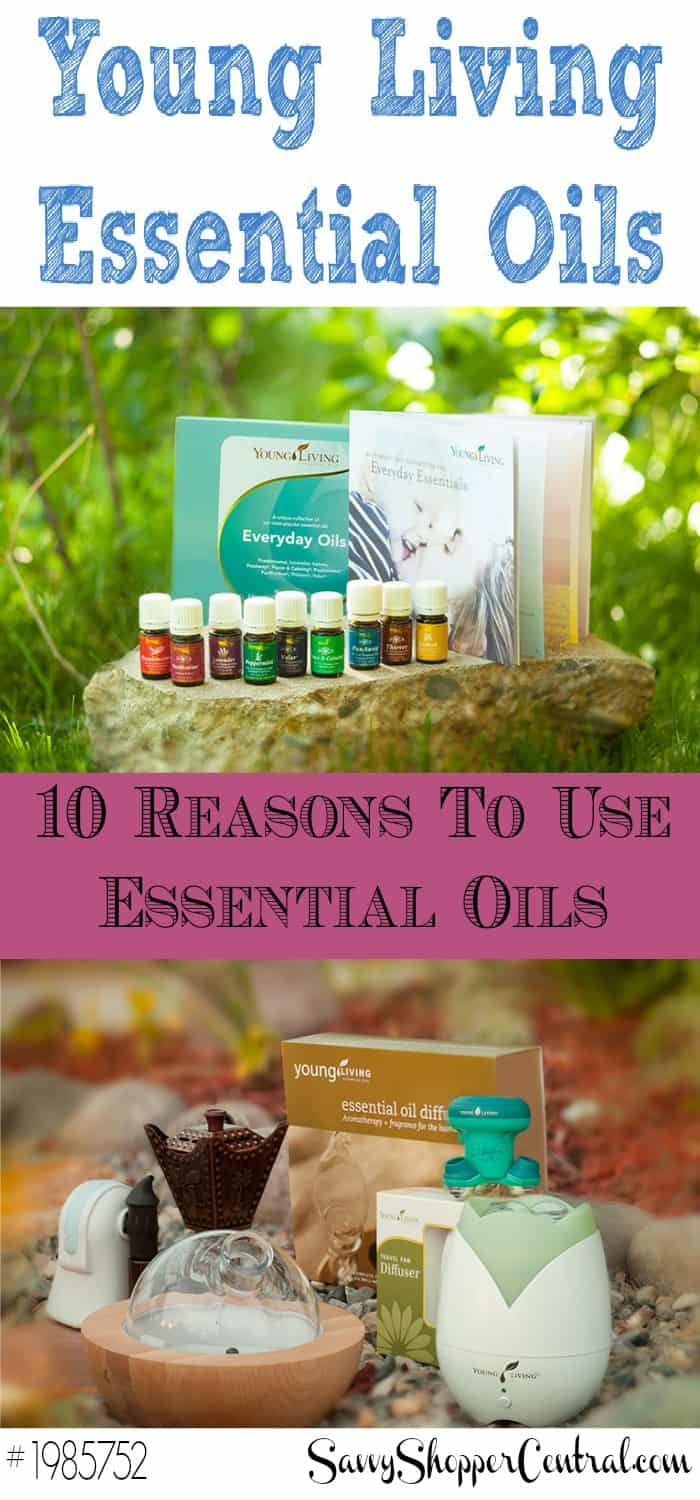 10 Reasons for Using Essential Oils