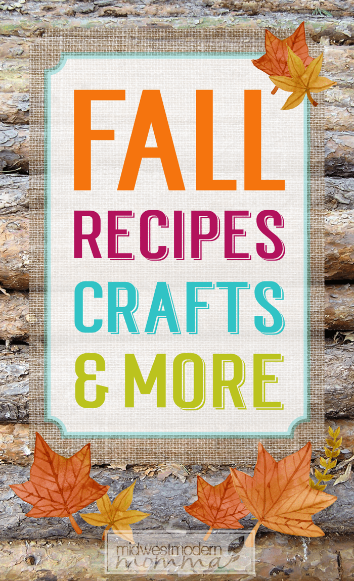 Fall Crafts, Recipes, and Homeschool lesson