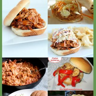 Slow Cooker Chicken Sandwich Recipes