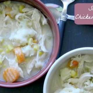 Chicken and Dumplings in the crockpot