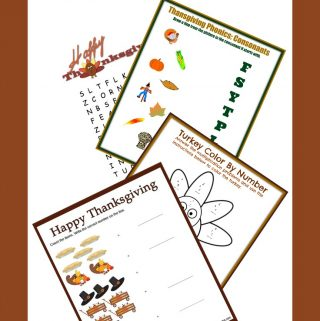 Free Lesson Plans for Thanksgiving