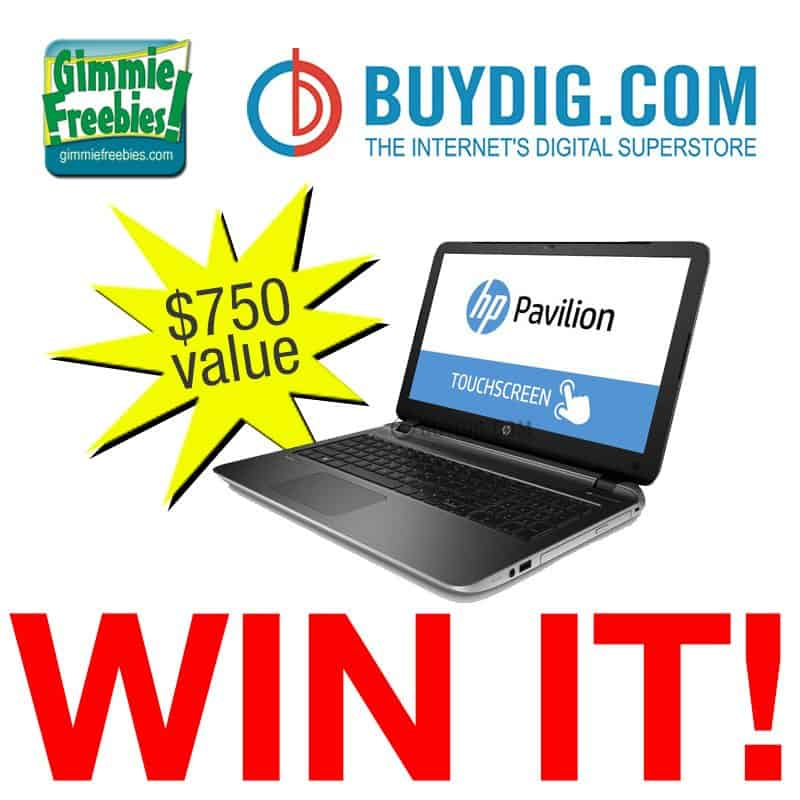 HP Touchscreen Laptop Giveaway