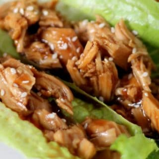 Paleo Slow Cooker Chicken Teriyaki Cups