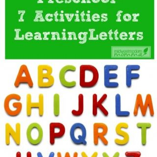 7 Ways to Help Preschoolers Learn the Alphabet