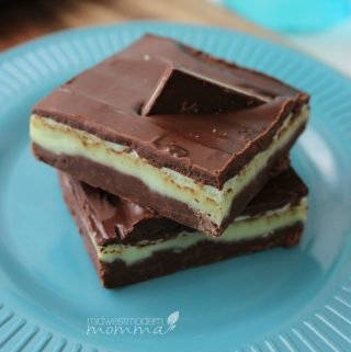 Homemade Andes Mint Fudge