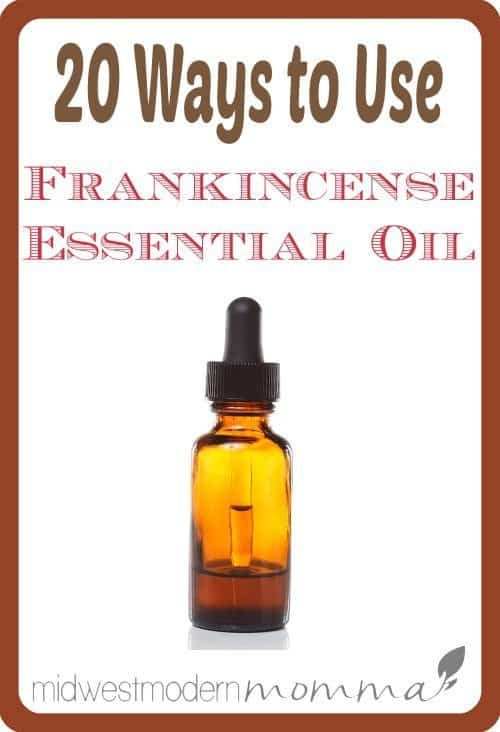 20 Frankincense Essential Oil Uses