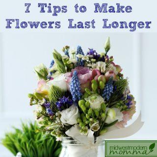 7 Tips to Make Fresh Flowers Last Longer